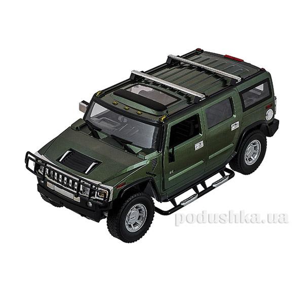 Машинка радиоуправляемая 1:10 Hummer H2 Meizhi MZ-2056g зеленый