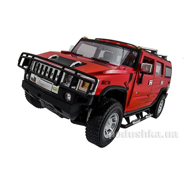 Машинка радиоуправляемая 1:14 Hummer H2 Meizhi MZ-2026r красный