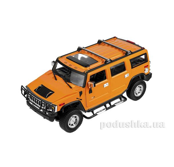 Машинка радиоуправляемая 1:14 Hummer H2 Meizhi MZ-2026y желтый
