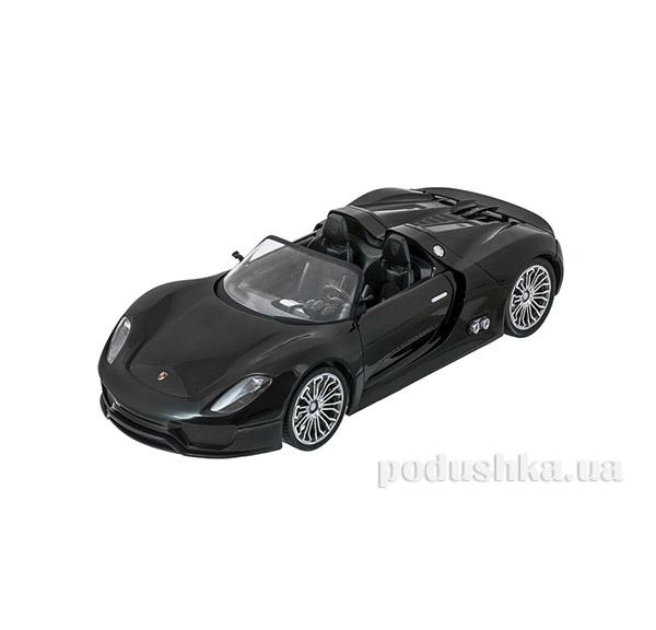 Машинка радиоуправляемая 1:14 Porsche 918 Meizhi MZ-2046b черный