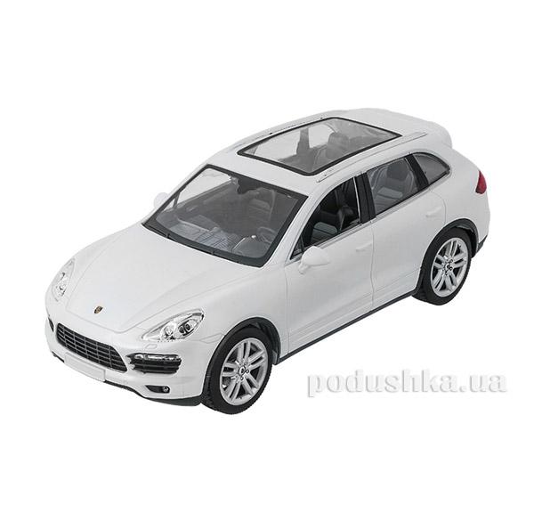 Машинка радиоуправляемая 1:14 Porsche Cayenne  Meizhi MZ-2045w белый