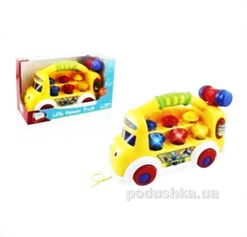 Машинка-каталка со звуком и светом Kiddy Fun 0679BTDH-KF