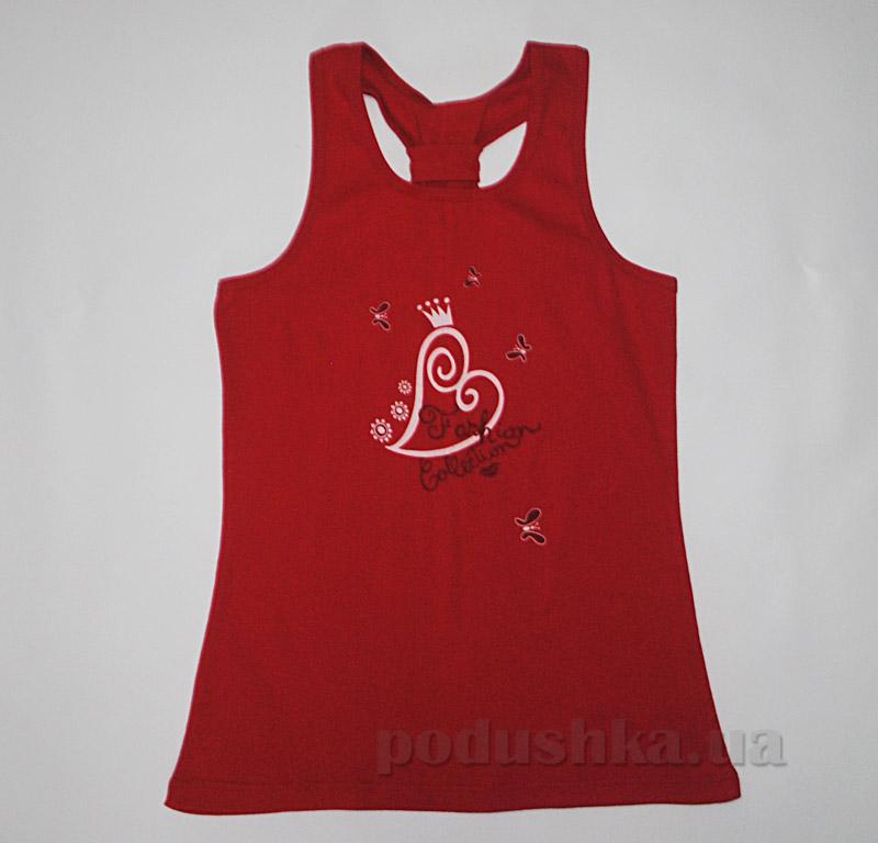 Майка для девочек Senti 120512 красная