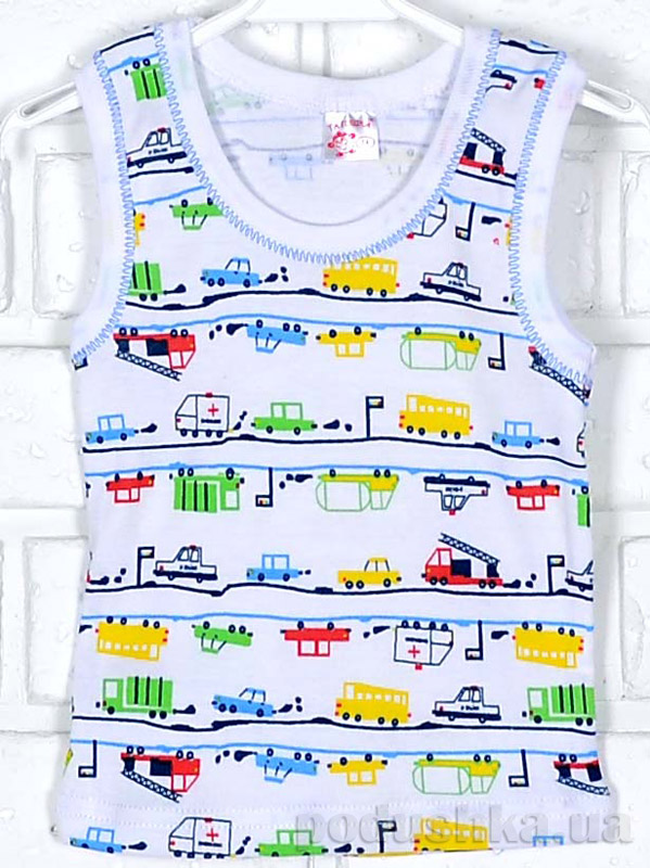Майка для мальчика Татошка 25628 Автомобили