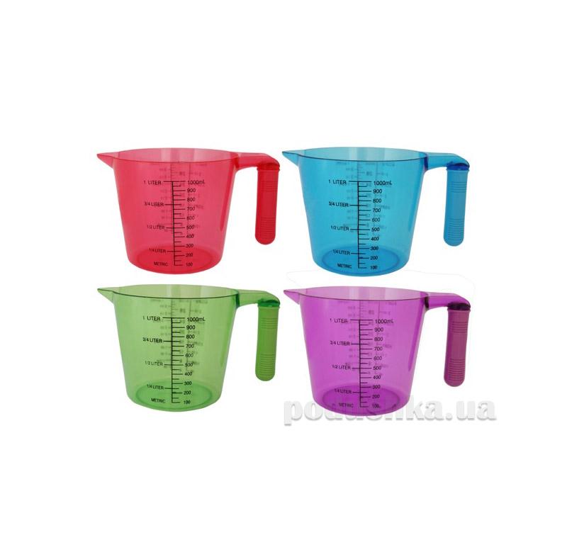 Мерный стакан 1,0 л пластиковый Kamille 0025