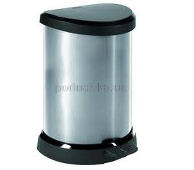 Метализированный контейнер для мусора деко 02150