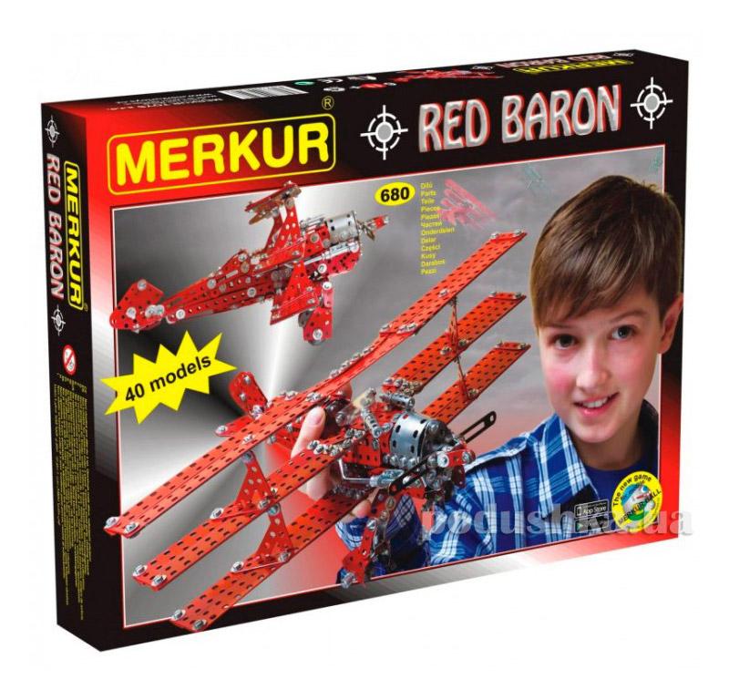 Металлический конструктор Merkur KITTY HAWK Set 3352