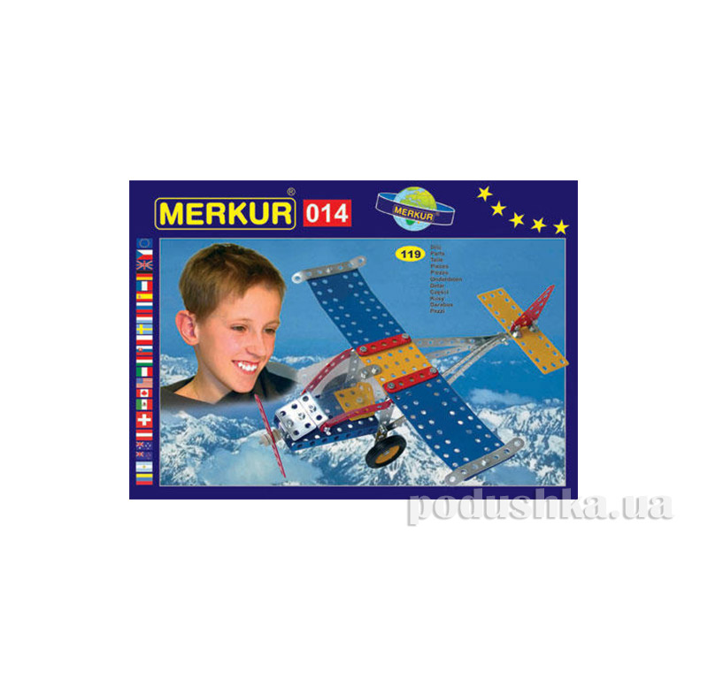 Металлический конструктор Merkur M014 1549