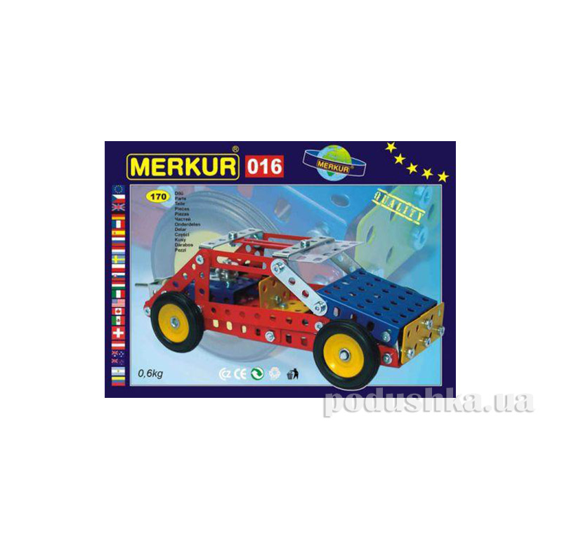 Металлический конструктор Merkur M016 1563