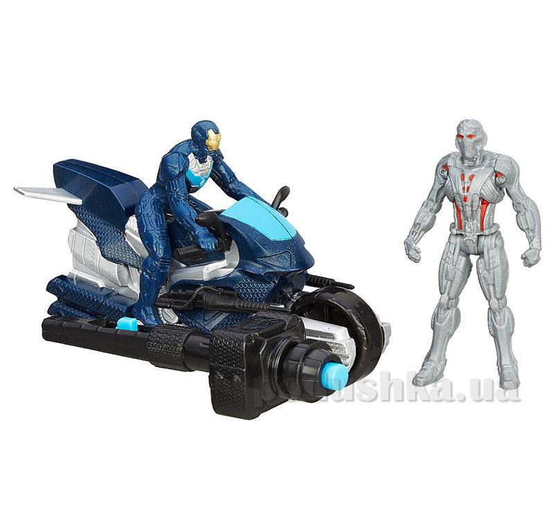 Мини фигурка мстителя делюкс AVN Альтрон и Железный человек Marvel