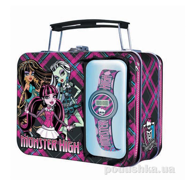 Мини-кейс Monster High с часами MHRJ20