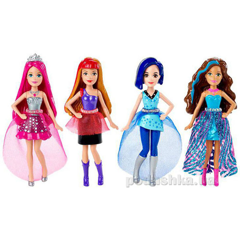 Мини-кукла Barbie Рок-принцеса в ассортименте CKB72