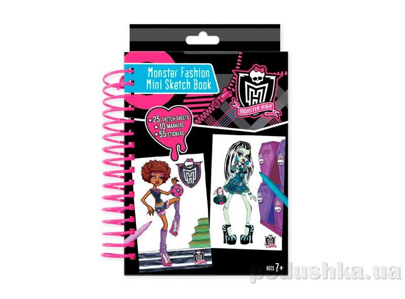 Мини-набор для творчества с наклейками Серия Школа Монстров Fashion Angels mh-64004
