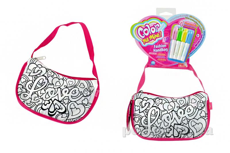 Мини-сумка Color me mine Розовая Мода Simba