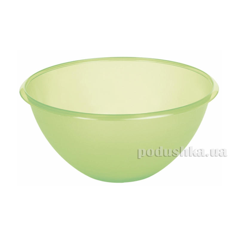 Миска для салата Curver 0661  цвет-зеленый Curver