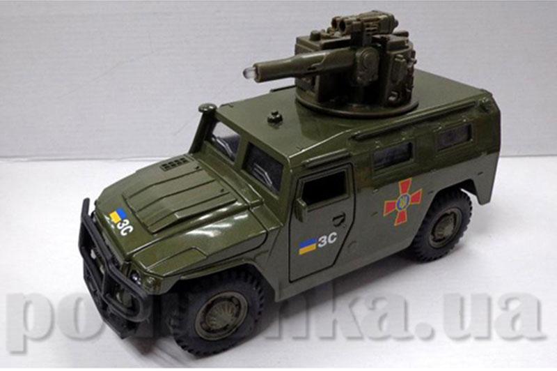 Модель ГАЗ Тигр big Технопарк CT12-392-G-1