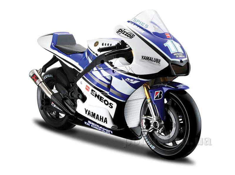 Модель мотоцикла MotoGP 1:10, 2012 Yamaha Factory Racing Team Maisto