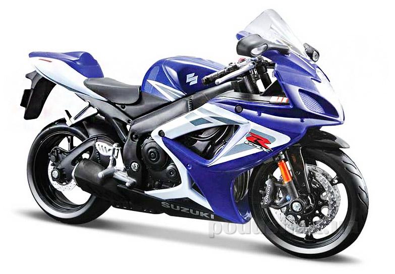Модель мотоцикла Suzuki GSX-R1000 2006 года Maisto 31101-1