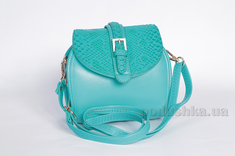 Молодежная сумка Deloris 8193 Blue-Green