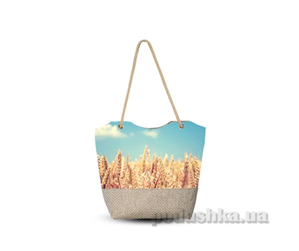 Молодежная сумка Izzihome Плетенка С0405