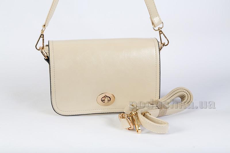 Молодежная сумка Maroon 0636 молочная
