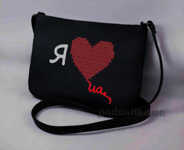 Молодежная сумка Mini-245 Я Love UA Slivki
