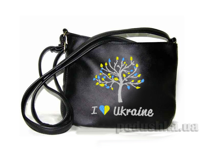 Молодежная сумка Mini-247 I Love Ukraine Slivki