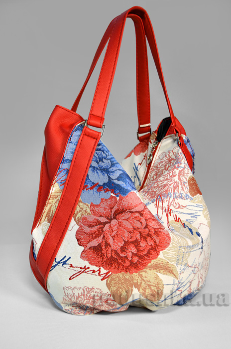 Молодежная сумка с красными цветами Anabelle-21 Slivki