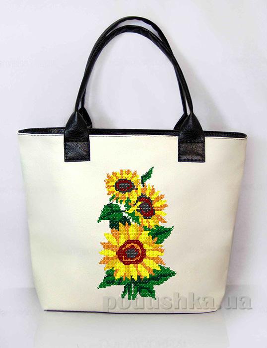 Молодежная сумка с подсолнухами Jennifer-27 Slivki