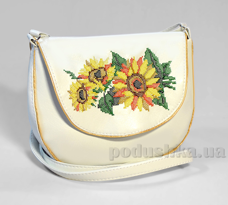 Молодежная сумка с подсолнухами Monika-22 Slivki