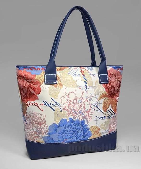 Молодежная сумка с синими цветами Jennifer-33 Slivki