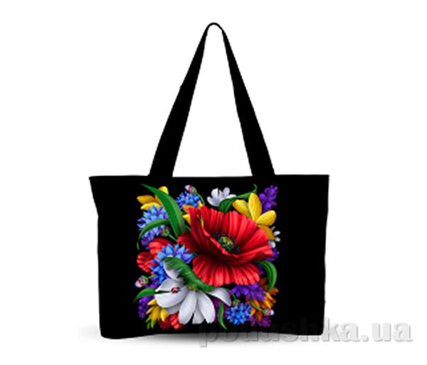 Молодежная сумка Украинский орнамент Izzihome С0801