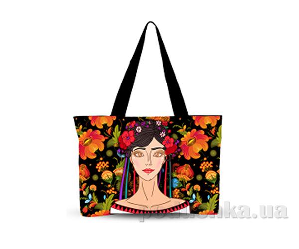 Молодежная сумка Украинский орнамент Izzihome С0803