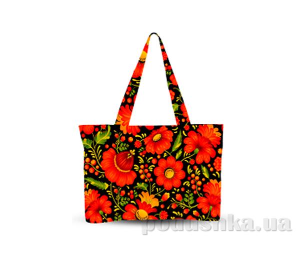 Молодежная сумка Украинский орнамент Izzihome С0805