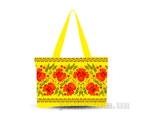 Молодежная сумка Украинский орнамент Izzihome С0806