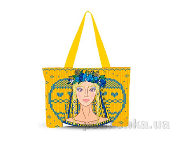 Молодежная сумка Украинский орнамент Izzihome С0807
