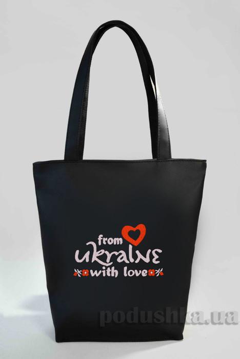 Молодежная сумка-шоппер From Ukraine Б330 Slivki
