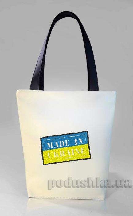 Молодежная сумка-шоппер Made in Ukraine Б332 Slivki