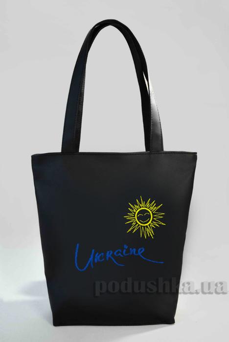 Молодежная сумка-шоппер Ukraine Б331 Slivki