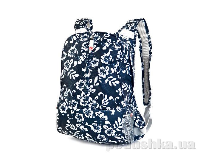 Молодежный рюкзак Derby 0170230 с цветочным принтом