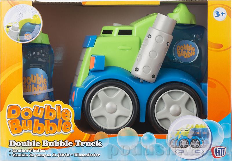 Моторизированный пузыримет Double Bubble + 125 мл бутылочка
