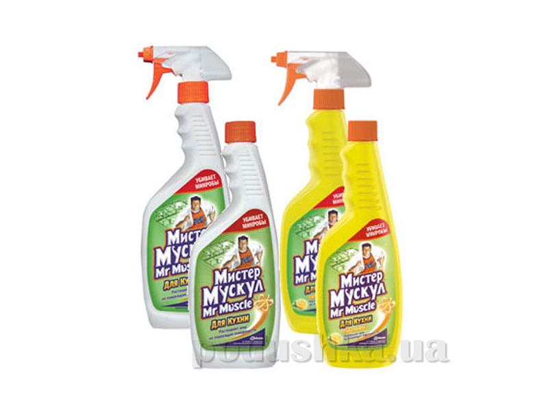 Моющее средство Mr Muscul для кухни Универсал с распылителем грейпфрут