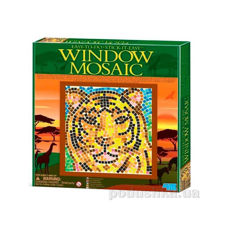 Мозаичный витраж 4M Тигр из серии Сафари