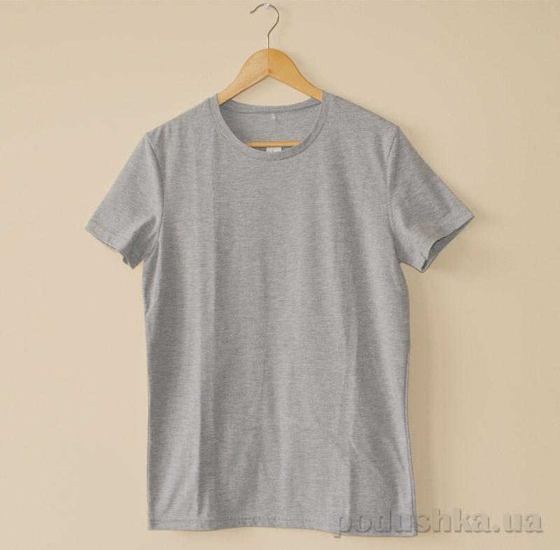 Мужская футболка МТФ 5521 серая
