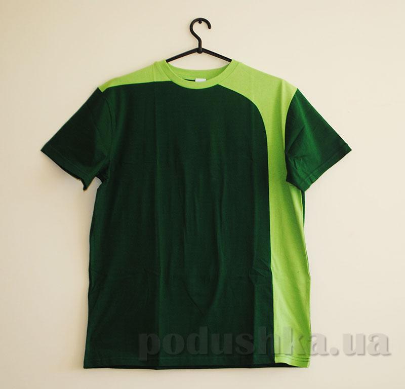 Мужская футболка Senti 1412141 зеленая