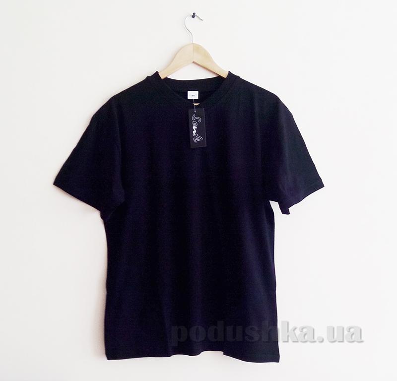 Мужская футболка Senti 20601 черная