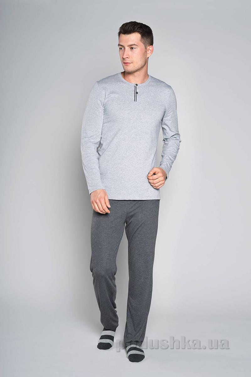 Мужская пижама Italian Fashion M-Ivo-5.5 меланж-темный меланж
