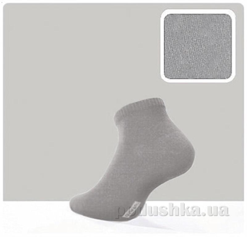 Мужские носки из бамбука короткие Bamboo DiWaRi 13С-18СП серые