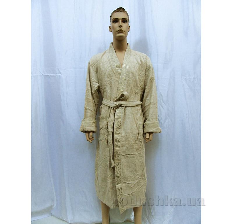 Мужской халат Кимоно Arya 13550 бежевый