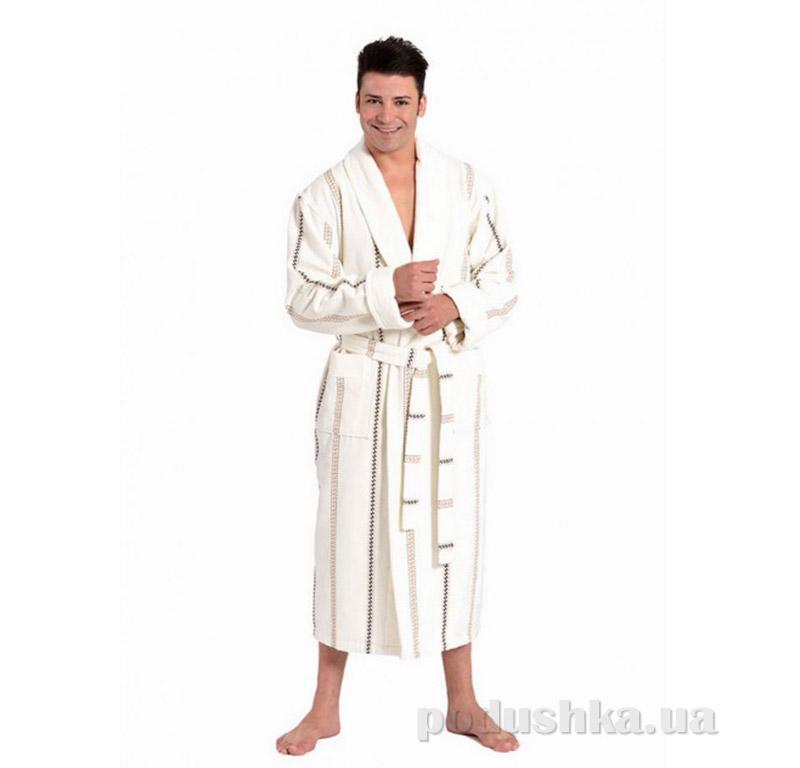Мужской халат с Шальке Arya 14510